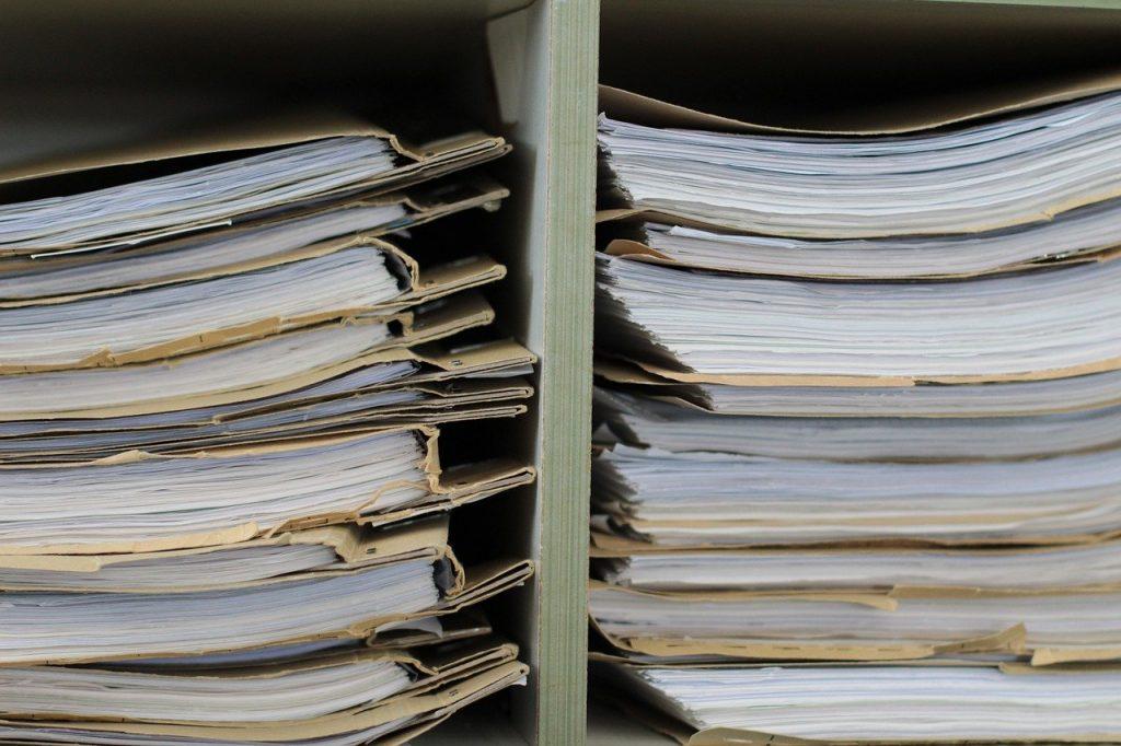 Files Files Shelf Paper Office  - bboellinger / Pixabay